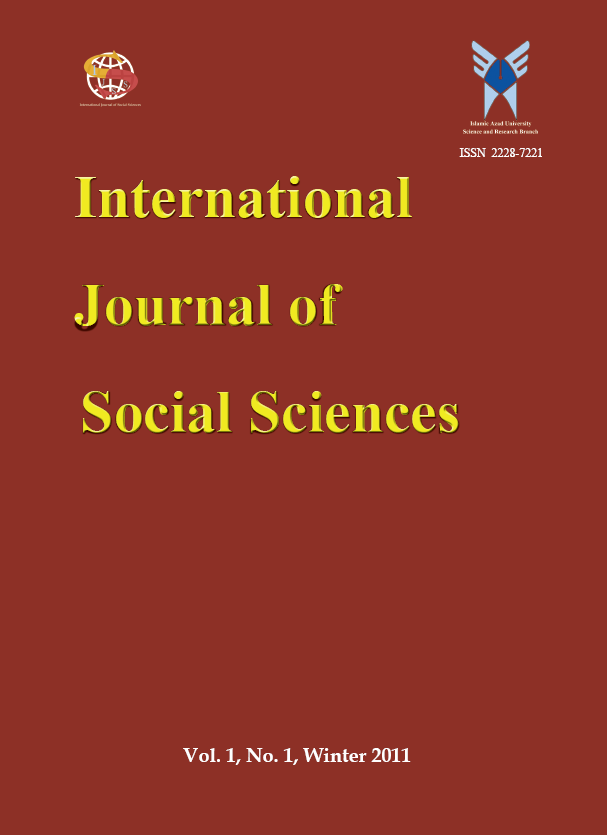 IAU International Journal of Social Sciences
